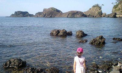 越前松島水族館からの景色