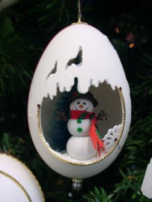 卵を使った飾りEggart06