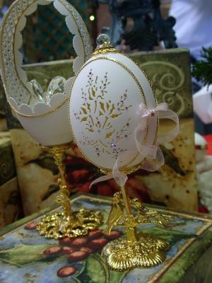 卵を使った飾りEggart08