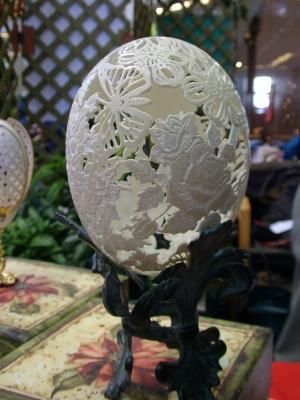 卵を使った飾りEggart10