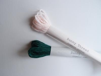 刺繍糸 刺繍 オーガニックコットン