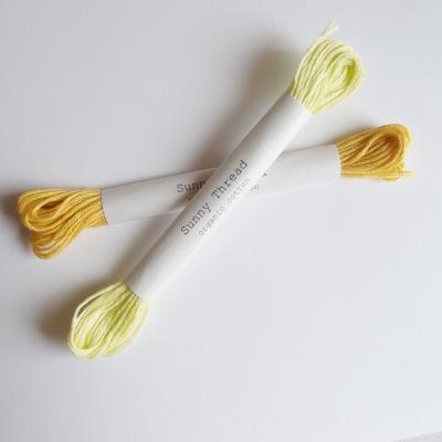 刺繍 刺繍糸 オーガニックコットン