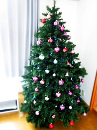 今年のクリスマスツリー画像