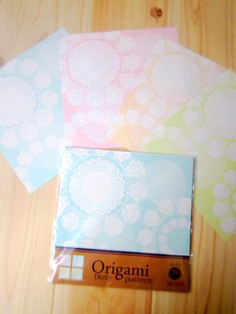 100均meetsで見つけたオシャレ折り紙