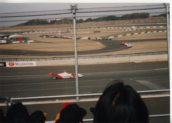 2000年インディージャパン:スタンドから