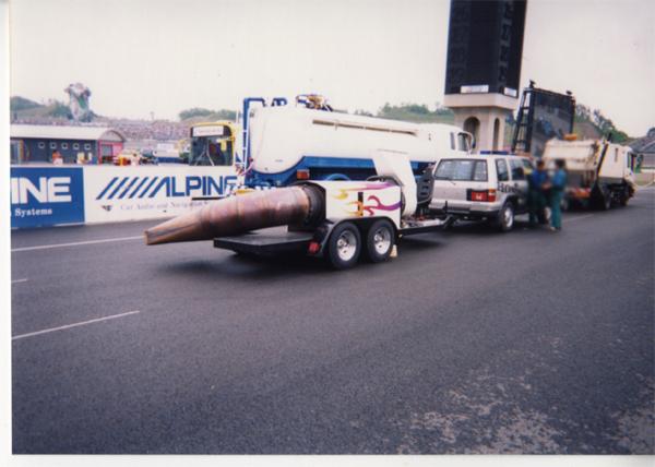 2000年インディージャパン:ジェットドライヤー