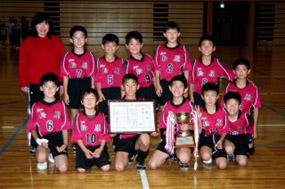 12年ぶり2回目の優勝 松原小チーム