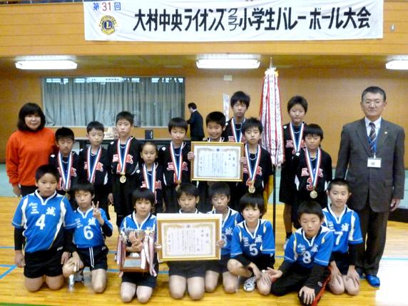 優勝 三城クラブ(6年男子・5年男子)
