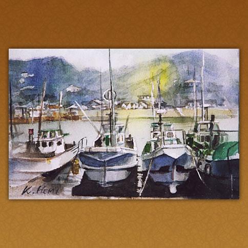 漁業基地/妻良港(西伊豆)
