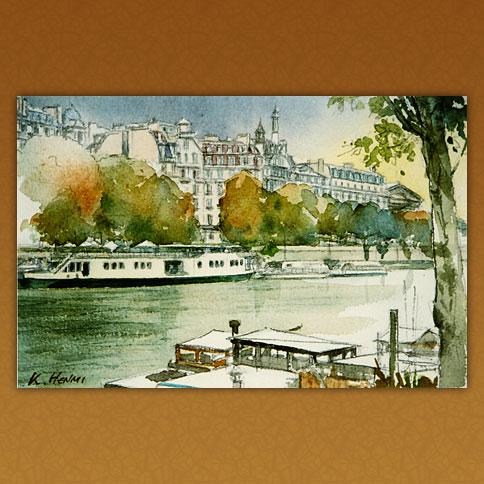 セーヌ川畔/パリ