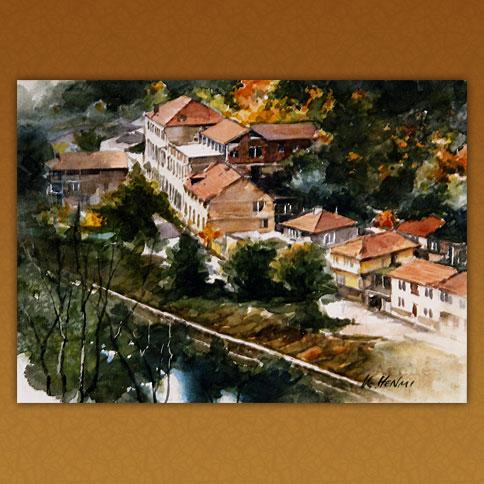 谷間の部落/ヴェルコタルノヴァ・ブルガリア