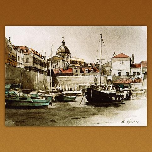 ドブロブニク港/クロアチア