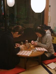 マクラメワークショップ/神戸/ユメノマドカフェにて