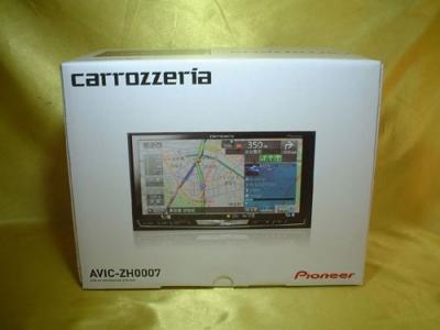 AVIC-ZH0007の箱