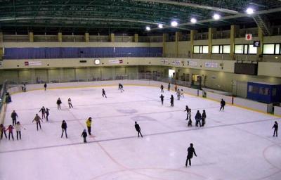 江戸川アイススケート