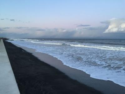 長生村の海