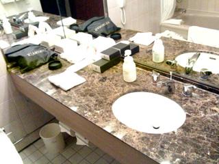 ANA インターコンチネンタルホテル 洗面室