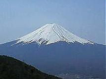 御坂峠 天下茶屋からの富士山