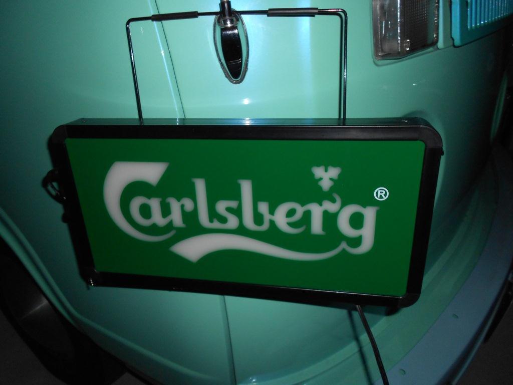 カールスバーグのスイープサイン