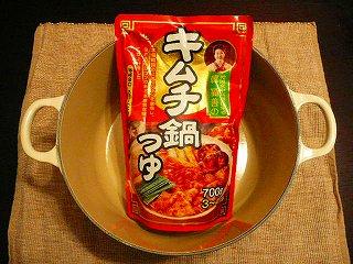 韓 福善のキムチ鍋つゆ