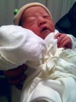 長女誕生!