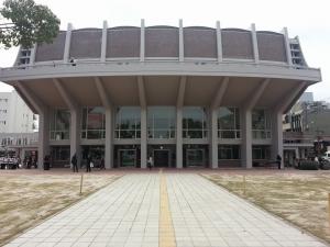 米子市公会堂ファサード(正面)