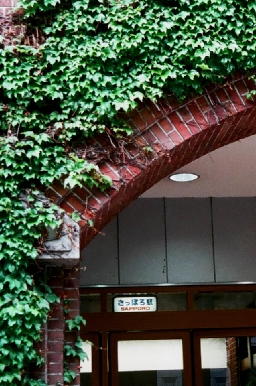 札幌西武・地下鉄の出入り口