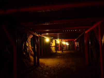 地下壕内部