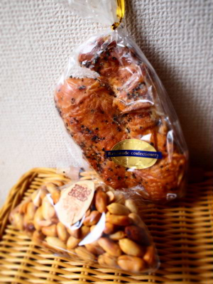 鶏とピーナッツの燻製