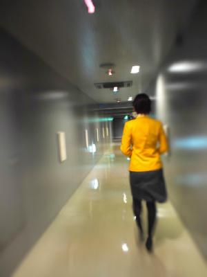 近未来っぽい廊下