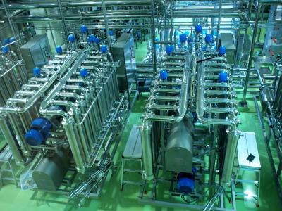 ビールろ過の工程