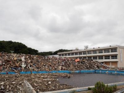 豊間中学校2012年6月25日