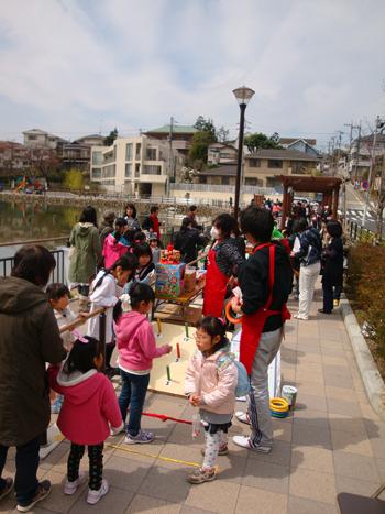 小池公園春祭り10