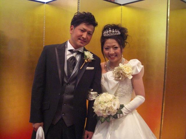 坂口雄也さん、林 杏里さんの披露宴MCで行って来ました。