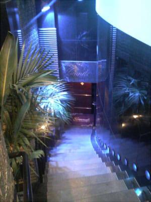 グランデ渋谷入り口への階段