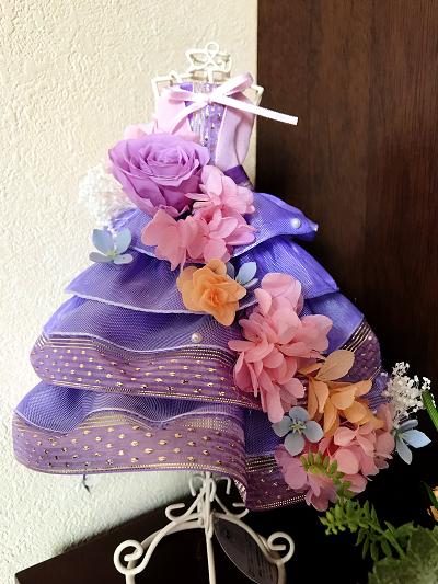 ラプンツェルのドレス