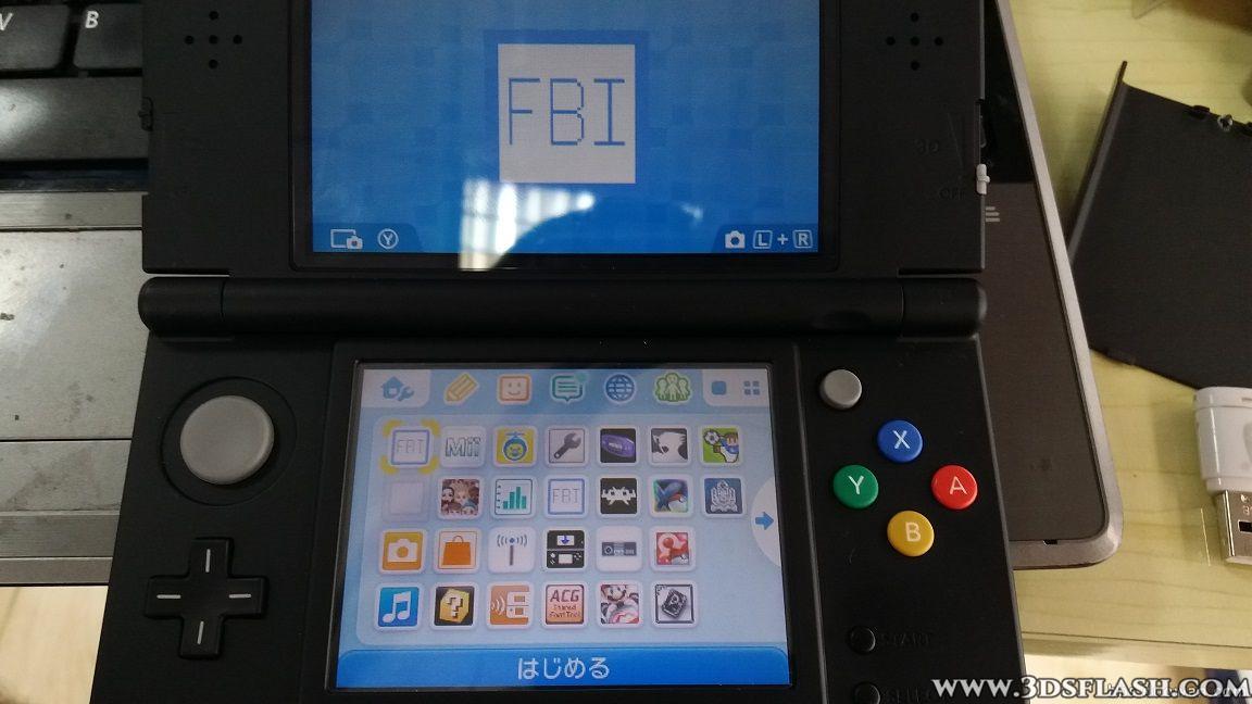 3DS向けオープンソースCIAインストーラーFBIMOD版FBIの導入方法 | 玄人