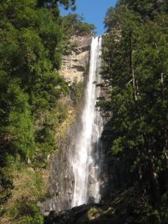日本三大名瀑のひとつ、那智の滝