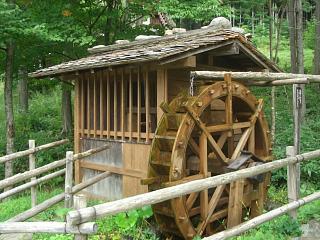 飛騨の里・水車小屋
