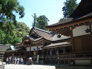 奈良のパワースポット神社(1) 大神神社 拝殿