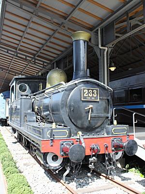 交通科学館233蒸気機関車