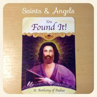 あなたはそれを見つけましたね・  バドウヴァの聖アントニオ