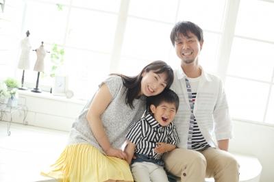埼玉 上尾 七五三 ベビーマッサージ ファミリー 初宮
