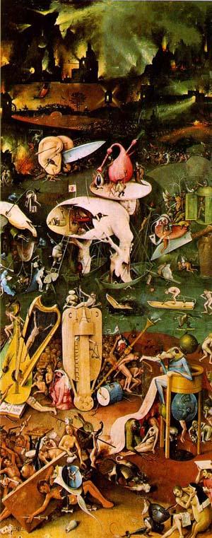 悪魔の絵画快楽の園