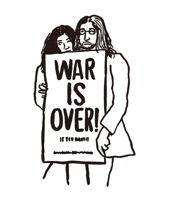 john and yoko war is over naijel graph ナイジェルグラフ