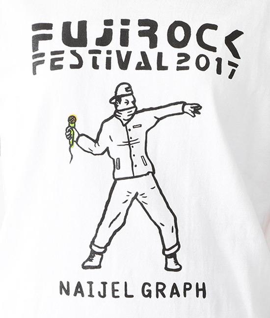 fujirock フジロック Tシャツ T shirts naijel graph ナイジェルグラフ