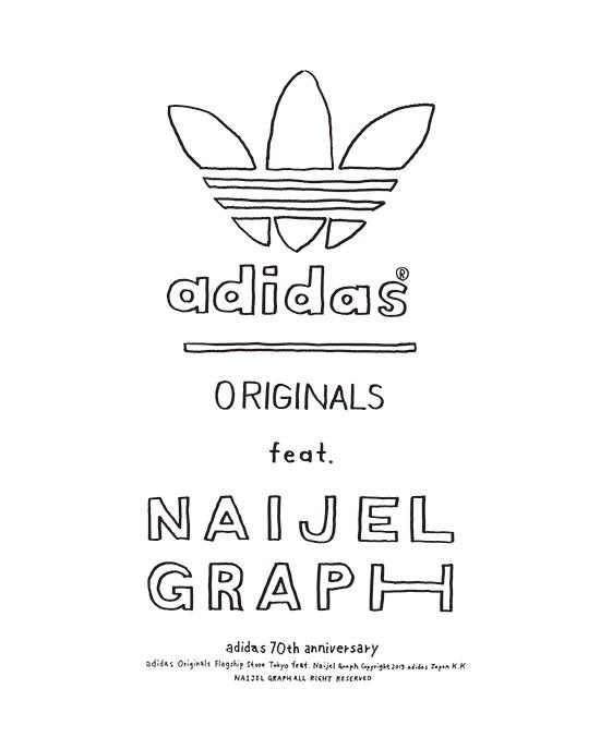 adidas originals naijel graph Exhibition アディダス オリジナルス ナイジェルグラフ