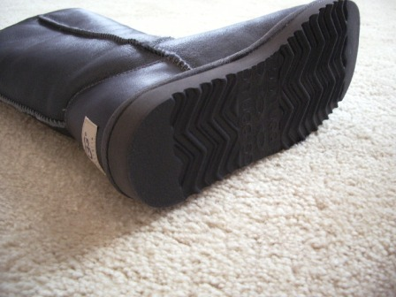 ブーツの底
