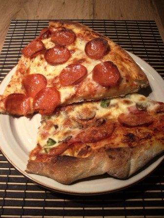 Boltonのピザ屋