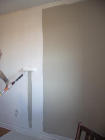 ローラー塗り